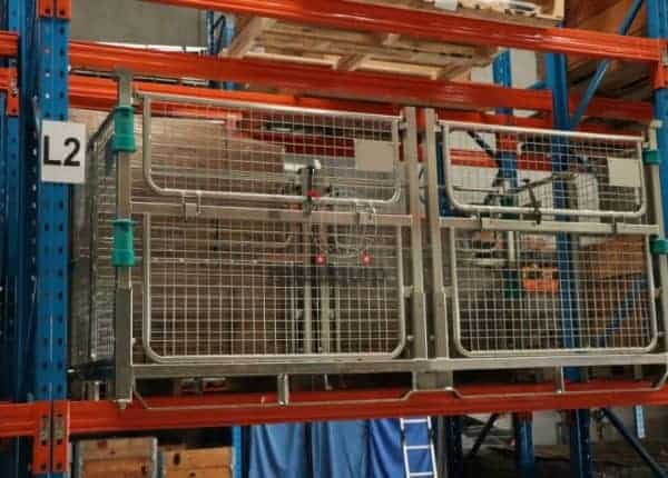 Big Box Pallet Cage in Pallet Racking