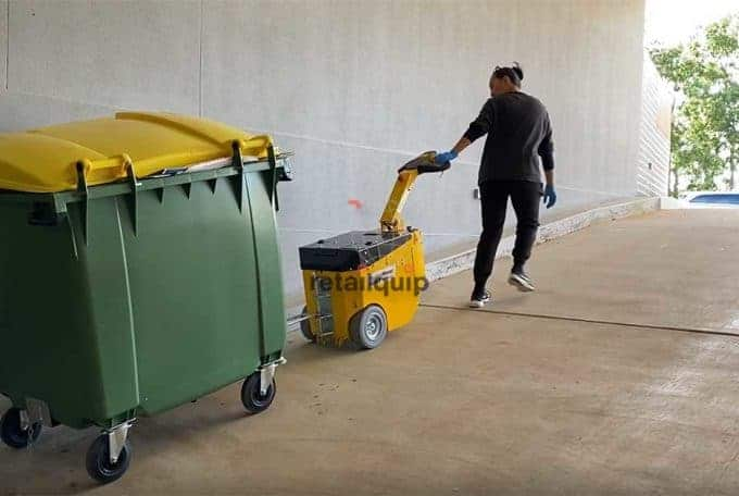 Residential Apartment in Scarborough purchases Rubbish Bin Mover Tug to help move bins