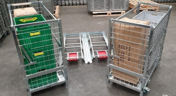 HPCage pallet adapter